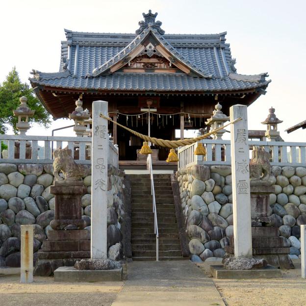 鵜沼宿にある二ノ宮神社 No - 6