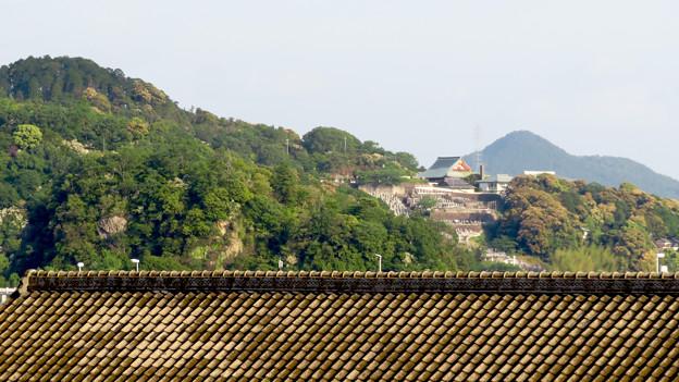 鵜沼宿にある二ノ宮神社 No - 20:境内から見えた犬山成田山
