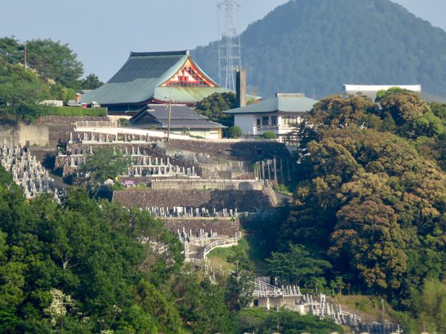 鵜沼宿にある二ノ宮神社 No - 21:境内から見えた犬山成田山