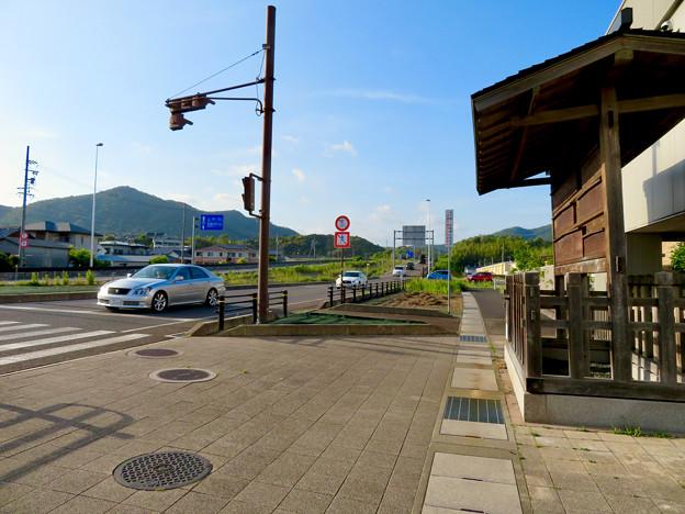 鵜沼宿 No - 7:国道21号沿いにある高札場