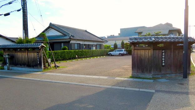 鵜沼宿 No - 15:町屋館駐車場