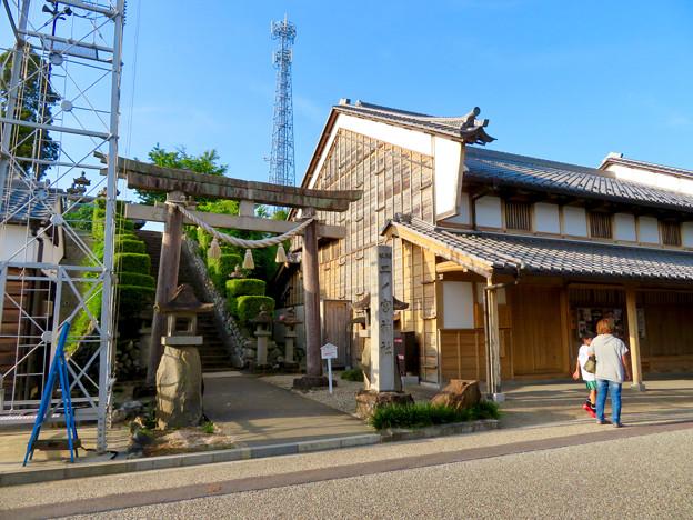 鵜沼宿 No - 45:脇本陣と二ノ宮神社