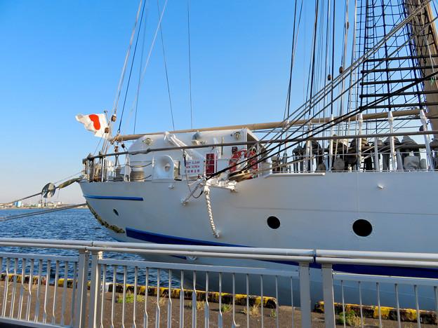 ガーデンふ頭に停泊して帆船「日本丸」 - 18