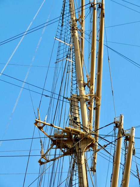 ガーデンふ頭に停泊して帆船「日本丸」 - 27