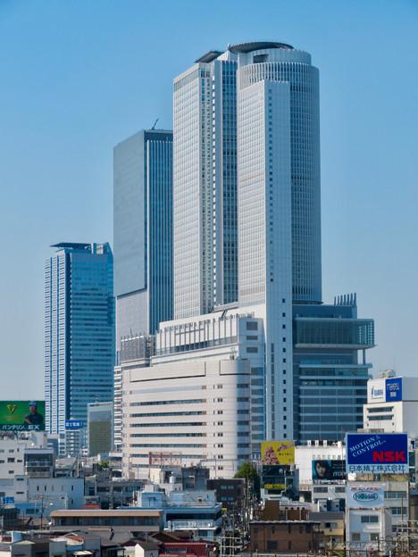 グローバルゲート最上階から見た名駅ビル群 - 2