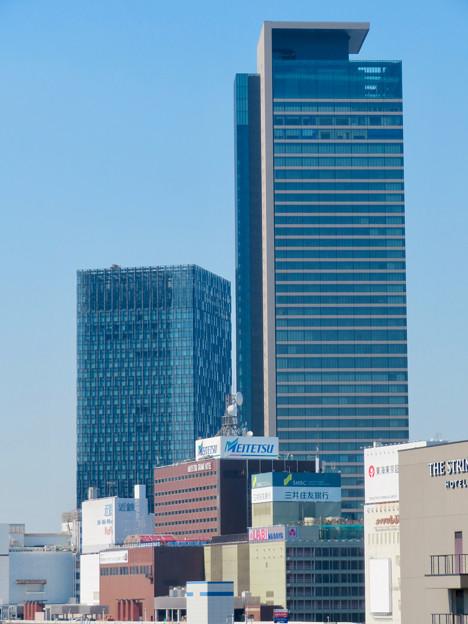 グローバルゲート最上階から見た名駅ビル群 - 3