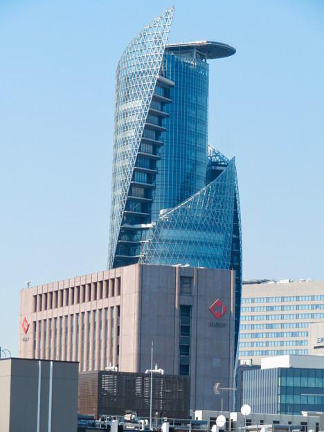 グローバルゲート最上階から見た名駅ビル群 - 4