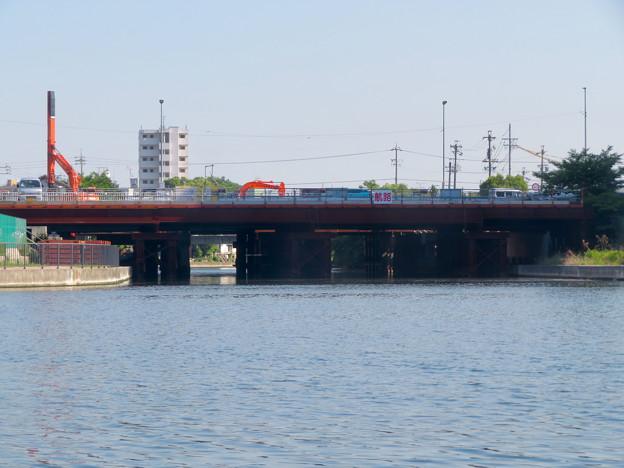 クルーズ名古屋(2019年5月)No - 8:船内から見た運河橋