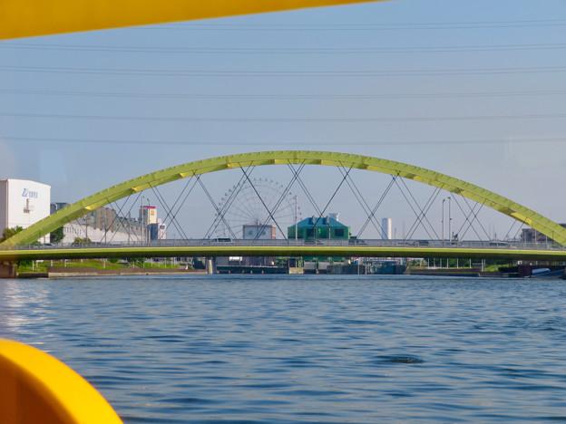 クルーズ名古屋(2019年5月)No - 77:船内から見た「いろは橋」