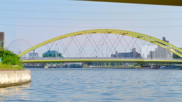 クルーズ名古屋(2019年5月)No - 107:船内から見た「いろは橋」