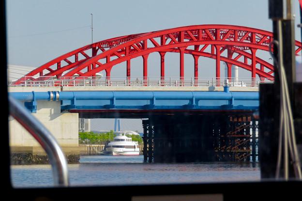 クルーズ名古屋(2019年5月)No - 134:船内から見た中川橋