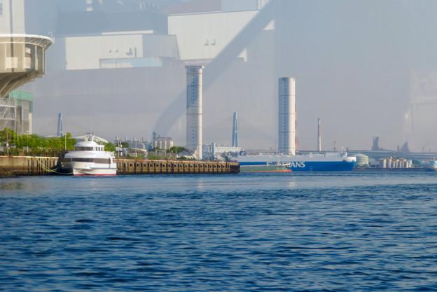 クルーズ名古屋(2019年5月)No - 138:船内から見た新名古屋火力発電所の塔