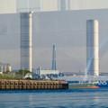 クルーズ名古屋(2019年5月)No - 139:船内から見た新名古屋火力発電所の塔