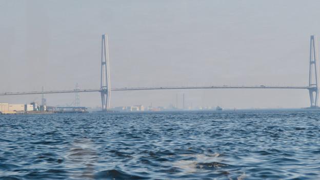 クルーズ名古屋(2019年5月)No - 153:船内から見た名港中央大橋