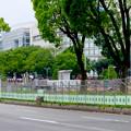 リニューアル工事中の久屋大通公園(2019年6月2日) - 2