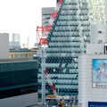 Photos: スパイラルタワーズ横の建設工事のクレーン - 1