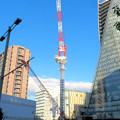 Photos: スパイラルタワーズ横の建設工事のクレーン - 3