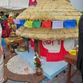 Photos: ネパールフェスティバル名古屋 2019 No - 7:昔ながらのネパールの家を再現した模型?