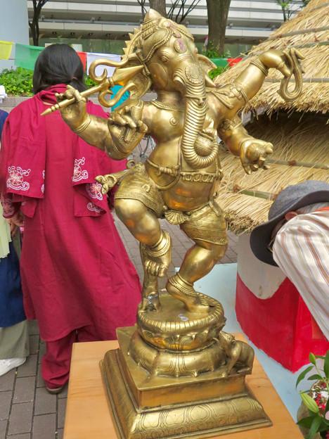ネパールフェスティバル名古屋 2019 No - 9:ガネーシャ像