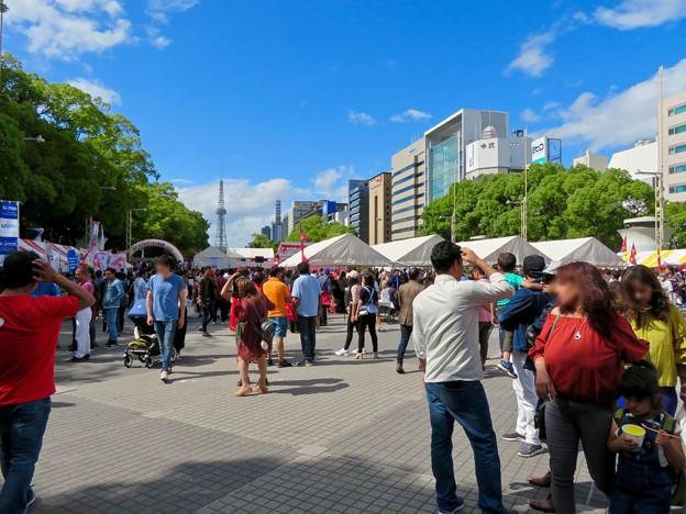 ネパールフェスティバル名古屋 2019 No - 18:沢山の人で賑わう会場