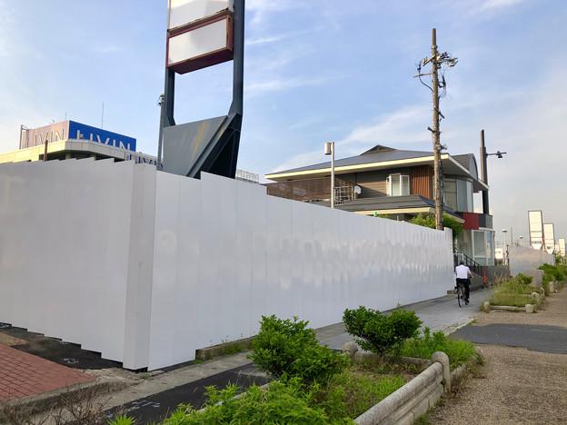 解体工事が始まっていた旧ザ・モール春日井の建物(2019年6月18日) - 13