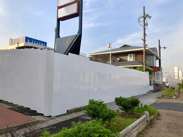 解体工事が始まっていた旧ザ・モール春日井の建物(2019年6月18日) - 14