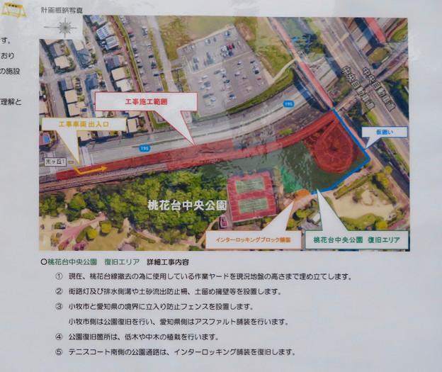 桃花台線の桃花台中央公園南側撤去工事(2019年6月23日) - 16:工事概要