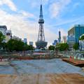 Photos: リニューアル工事中の久屋大通公園(2019年7月7日) - 7