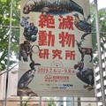 Photos: 名古屋市科学館「絶滅動物研究所」展 No - 1:巨大ポスター