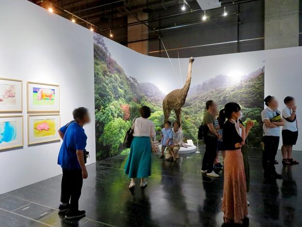 名古屋市科学館「絶滅動物研究所」展 No - 101:ジャイアントモアの復元模型
