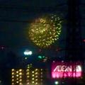 桃花台から見えた「名古屋みなと祭 2019」の花火 - 5