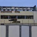 Photos: 解体工事中の旧・ザ・モール春日井(2019年7月20日):ステンドグラス部分が丸っと取り除かれる - 4