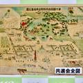 Photos: 鶴舞公園 110周年記念のプレート - 7:第十回関西府県連合共進会全図