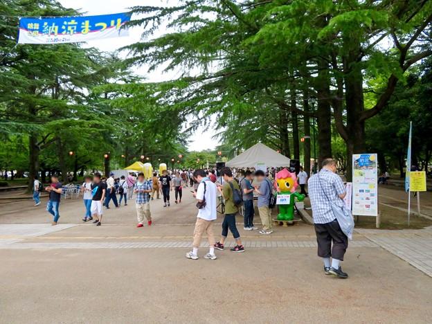 鶴舞公園納涼まつり 2019 No - 2:祭りよりポケモンGoの人たちがいっぱい!?