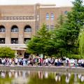 Photos: 鶴舞公園納涼まつり 2019 No - 6:名古屋市公会堂前に集まってた沢山のポケモンGOをプレイする人たち
