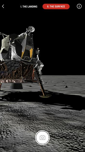 月面着陸をAR&VRで体験できるアプリ「TIME Immersive」- 4