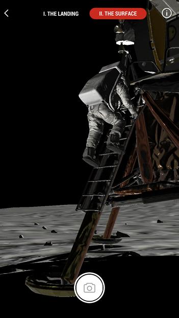 月面着陸をAR&VRで体験できるアプリ「TIME Immersive」- 6