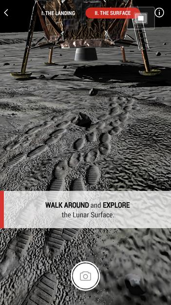 月面着陸をAR&VRで体験できるアプリ「TIME Immersive」- 9
