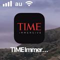 Photos: 月面着陸をAR&VRで体験できるアプリ「TIME Immersive」- 15:ホーム画面アイコン