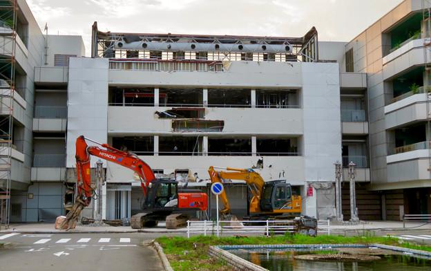 解体工事中の旧・ザ・モール春日井(2019年7月28日) - 14