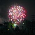 大池緑地公園から見た春日井市民納涼まつりの花火 - 16