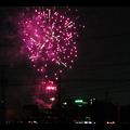 大池緑地公園から見た春日井市民納涼まつりの花火 - 23