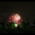 大池緑地公園から見た春日井市民納涼まつりの花火 - 24