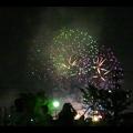 大池緑地公園から見た春日井市民納涼まつりの花火 - 27