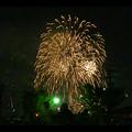 大池緑地公園から見た春日井市民納涼まつりの花火 - 30