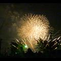 大池緑地公園から見た春日井市民納涼まつりの花火 - 34