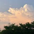 発達した夕暮れ時の雲 - 3