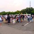 大勢の人で賑わう春日井市民納涼まつり(2019)の日の落合公園 - 44