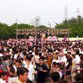 大勢の人で賑わう春日井市民納涼まつり(2019)の日の落合公園 - 50