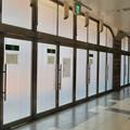 久屋大通公園リニューアル工事の関係で封鎖されてた栄地下セントラルパークの出入り口 - 1